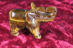 Kivieläin: Elefantti, tiikerinsilmänorsu