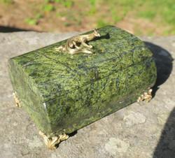 Serpentiini rasia, kannessa metallinen lisko nro5