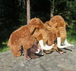 Pehmolelu mammutti 12cm