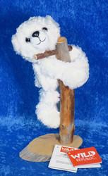 Pehmolelu jääkarhu, halaava 20cm