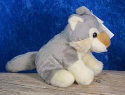 Pehmolelu susi, istumakorkeus 12cm