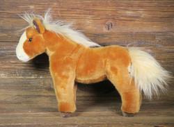 Pehmolelu hevonen, kesyhevonen, punaruskea
