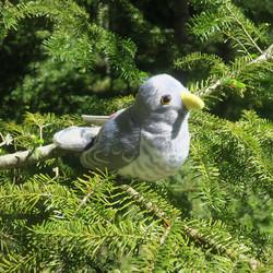 Pehmolelu Käki, lintu kukkuu luonnollisella äänellä