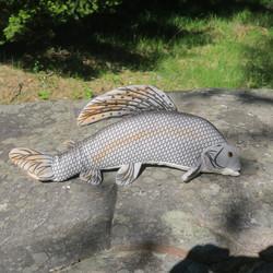 Pehmolelu harjus eli harri, 43cm kala