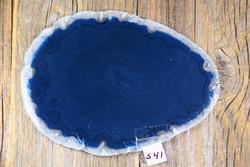 Akaattilevy sininen 85x115mm  nro S41