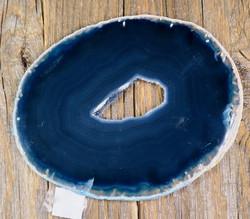 Akaattilevy sininen 78x98mm nro S47