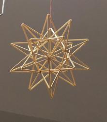 Himmeli: olkihimmeli tähti, isompi n. 25cm