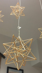 Himmeli: olkihimmeli tähti, pienempi n. 11cm