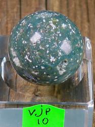 Kivipallo Valtamerijaspis nro 10-13  n. 3cm 35g Madagaskar
