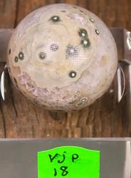 Kivipallo Valtamerijaspis  nro 18-20 n. 3cm 35g Madagaskar