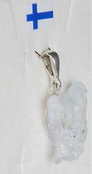 Riipus  selestiitti  enkelikivi, 925-hopea-silver SELK