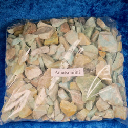 Amatsoniitti raaka, eri kokoisia 500g/erä