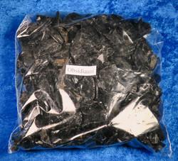 Obsidiaani raaka musta, eri kokoisia 500g/ erä