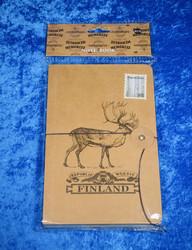 Muistikirja: Poro Finland 185x120x15mm (Note book f110a)