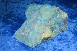 Krysokolla raaka iso 905g 10x9x8cm, Peru, komea yksilö