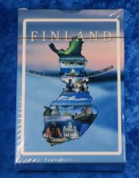 Pelikortit Suomen nähtävyyksiä, muovipinnoitettu