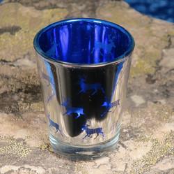 Snapsilasi porot peili, Lapland, sininen sisäpuoli