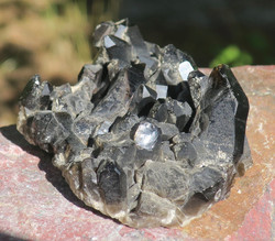 Savukvartsi kidesykerö 10x8cm, musta morioni 218g