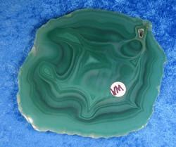 Akaattilevy vihreä 83x75mm  nro VM