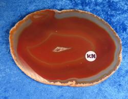 Akaattilevy karneoli 85x60mm nro KN