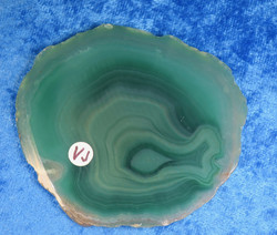 Akaattilevy vihreä 75x70mm  nro VJ