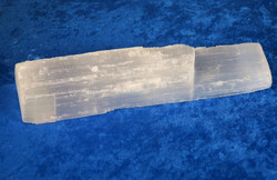 Seleniitti chakrahoitosauva, raaka, 16cm, 245g chakra healing wand