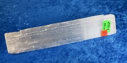 Seleniitti chakrahoitosauva, raaka, 20cm, 258g chakra healing wand