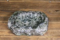 Kiviastia syeniittikulho paino 1,7kg halkaisija 17cm, 35mm vahva