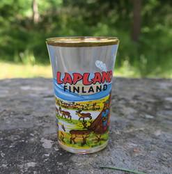 Shottilasi Lapland  Finland porot ja kota