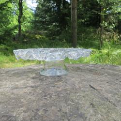 Tuikkualusta 5 tuikulle ja 1 isolle kynttilälle 28cm, jalallinen malli
