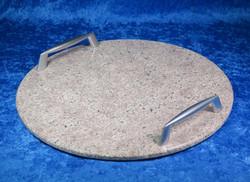 Tarjotin syeniitti pyöreä kivitarjotin 29,5mm nroTR5