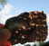 Granaatti siivu 90x60x4mm 70g almandiini Suomi nroGR23