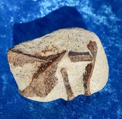 Stauroliitti ristikivi amulettikivi 64g 50x40x25mm Khibini Venäjä Hi12b