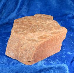 Kalimaasälpä iso oranssi kide 1,58kg 12x12x5cm nro Hi70 katso video