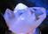 Valoalusta 10cm peilialusta, valkoinen LED-valo toimii verkkovirralla