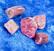 Rubelliitti kide pinkki turmaliini alle 0,5g Suomi Hi106a