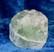 Fluoriitti raaka vihreä 81g 40x30x30mm Kiina