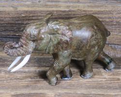 Kiviveistos elefantti, verdiittinorsu 500g Muvez63