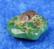 Krysopraasi rumpuhiottu hieno vahva vihreä väri 12g