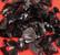 Obsidiaani raaka musta 20-25g Meksiko