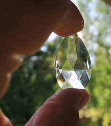 Kristallilasi pisara 5cm ikkunakristalli
