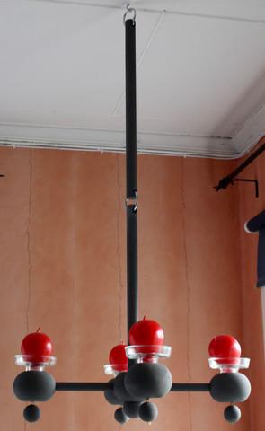 Aarikka kynttiläkruunu - nelihaarainen
