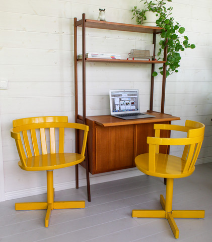 60-luvun tuoli / työtuoli, valmistaja Edsbyverken Ruotsi