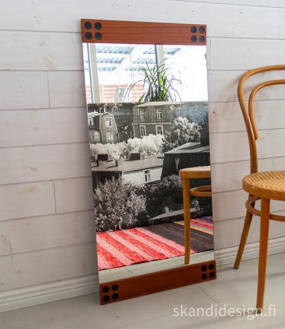 Mäkisen Kuvastimen vintage peili, 50 x 90 cm