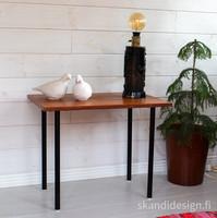Vanha teak apupöytä / sivupöytä