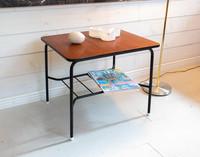 60-luvun sivupöytä / pieni sohvapöytä