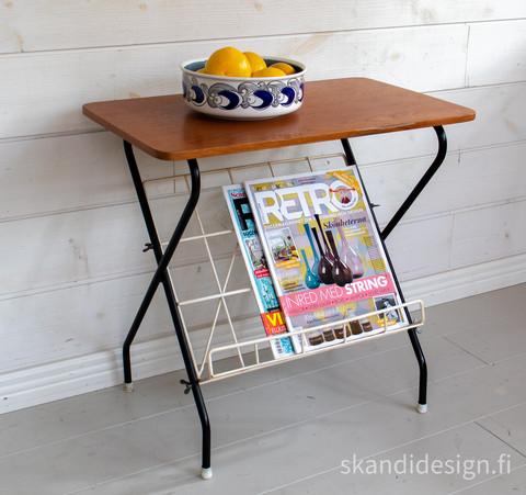 1950-luvun string tyylin radiopöytä