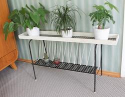 Upea 50-luvun kukkapöytä