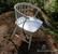 Puusepän tekemä pinnatuoli 1900-luvun alkupuolelta