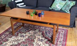 Askon 60-luvun iso sohvapöytä, design Ilse Töyrylä
